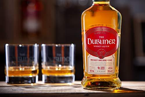 The Dubliner Irish Whiskey Liqueur 30% vol., Whiskeylikör mit Honig und Karamell-Geschmack (1 x0.7 l) - 2