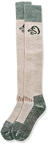 Ducks Unlimited Men's Wool Blend Wader Socks, Tan, Large