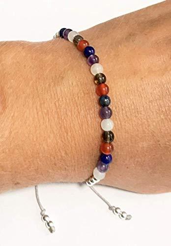 KARMA GEMS Menopause Healing Balance Reki Bracelet - Adjustable