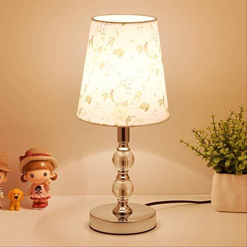Estilo moderno lampara de mesa de cristal nordico hotel decoracion dormitorio lampara sala de estar mesita de noche lampara con pantalla