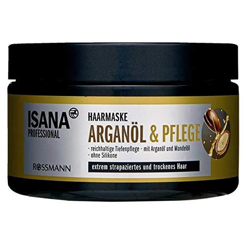 ISANA Professional Haarmaske Arganöl & Pflege - extrem strapaziertes und trockenes Haar - 250 mL