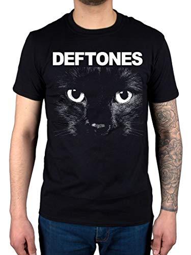 Official Deftones Sphynx T-Shirt Band Metal Rock Chino Moreno - Noir - M