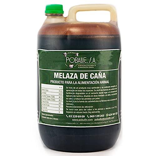 MELAZA POBALLE para COMPOST – Cultivo, cosechas y plantas. Garrafa de 6,5 kg de MELAZA de Caña de alta pureza.