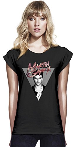 Martin Garrix Womens Continental Rolled Sleeve T-Shirt Medium