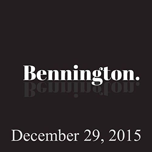 Bennington Archive, December 29, 2015 cover art