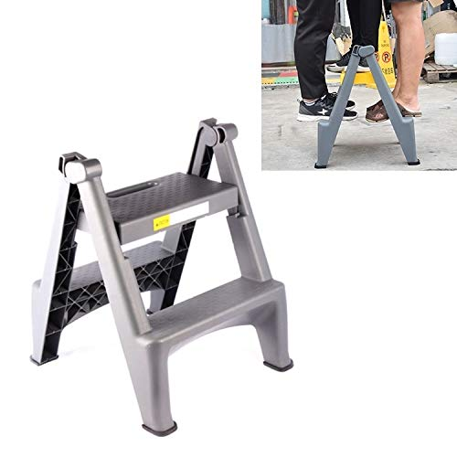 Auto-wasbehoefte, dik, kunststof, dubbelzijdig, opvouwbaar, ladder, autowasgoed, kruk, voor eenvoudige reiniging.