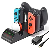 Multi-Function Charging Dock for Switch Joy Con, Pro...