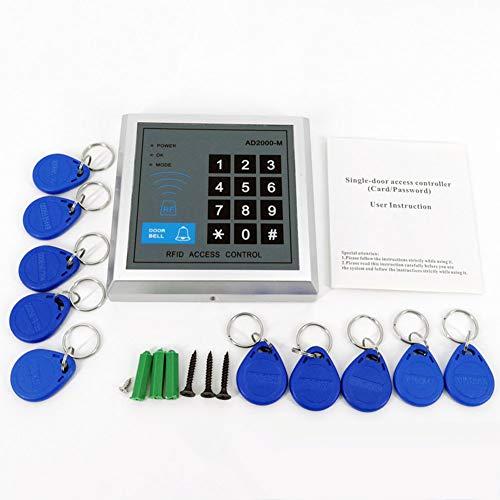 Wpond Sicherheit RFID-Türöffnungs-Türschließsystem mit 10 Tasten Senser Reader AD2000-M