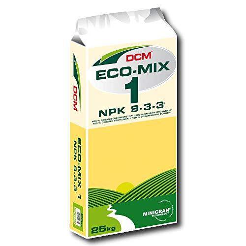Dcm Eco Mix 1 25 kg Engrais Universel Engrais Zusatzdünger pour Langzeitkulturen