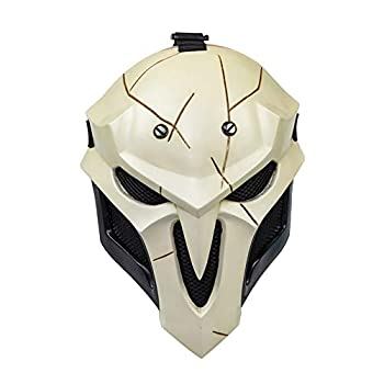 Halloween Mask OW Reaper Gabriel Reyes Cosplay Mask Game Anime Costume Accessory Prop