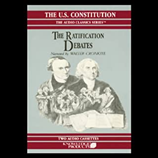The Ratification Debates audiobook cover art