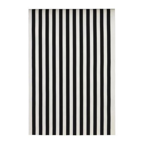 ★SOFIA / 布地 幅150cm / 幅広ストライプ / ブラック/ホワイト※ご注文後キャンセル不可商品[イケア]IKEA(90160027)