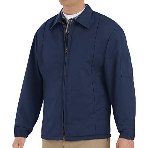 Red Kap Men's Perma-Lined Panel Jacket, Navy, X-Large