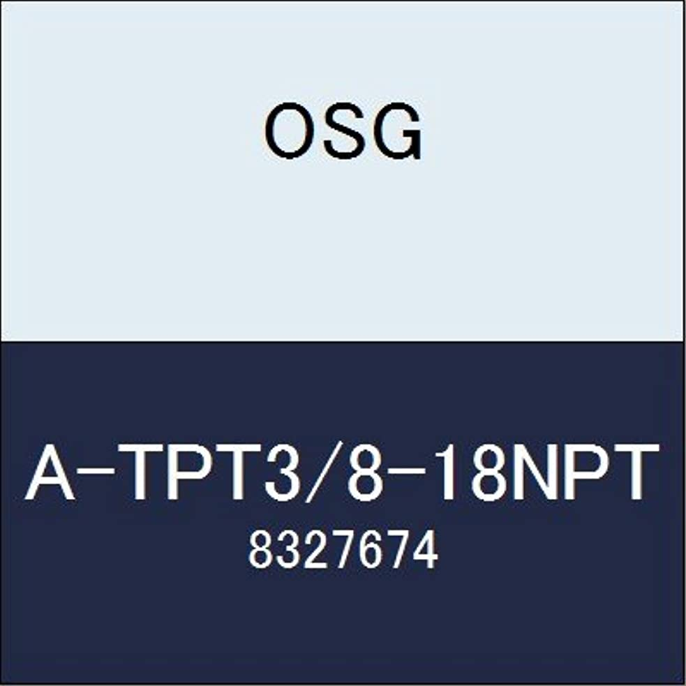 引き付ける北心理的OSG ハイス管用テーパタップ A-TPT3/8-18NPT 商品番号 8327674