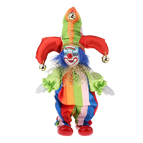 Clown Figure Doll Ornaments Home Table Desk Top Decor Halloween Decoration Gift - #2
