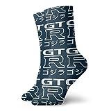 NA 4608 3D Printing Crew Unisex Socken - GTR