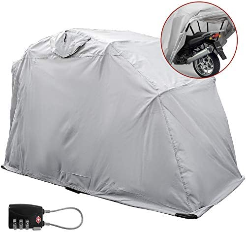 Mophorn Motorcycle Cover Waterproof Motorcycle Shelter Junior Outdoor Heavy Duty Motorcycle product image