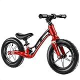 LosSimMass Bicicleta De Equilibrio De Aleación De Magnesio Superligera   Edades De 18 Meses A 5 Años Niños Pequeños Bicicleta De Equilibrio Deportiva Asiento Ajustable Caminante Deslizante para Niños