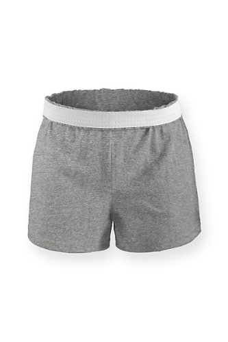 (M037) Soffe Cheer Short Grau Adult M (Size 8-10)