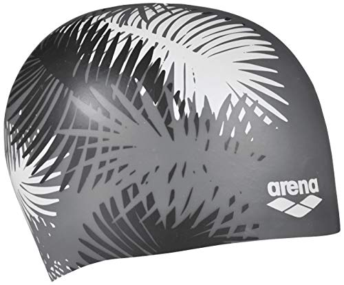 ARENA Sirene Badekappe, Palm Black