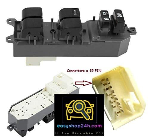Botón elevalunas para Yaris 06 Auris RAV 4 Rav4 2006 2010 4P Interruptor teclado elevalunas eléctrico delantero izquierdo