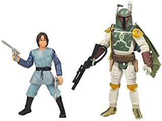 Star Wars 2010 Legacy of the Darkside Exclusive Action Figure 2Pack Boba Fett Orphan to Bounty Hunter