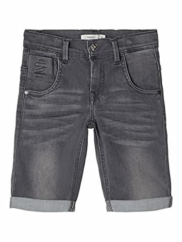 NAME IT Boy Jeansshorts X-Slim Fit Super Stretch 128Medium Grey Denim