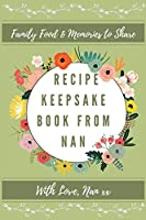 Recipe Keepsake Book From Nan