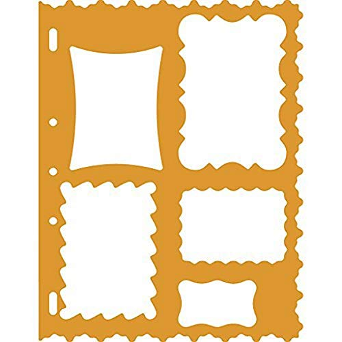 Fiskars 2407057 hapeCutter Schablonen Rahmen, 27.9 x 22.6 x 0.3 cm