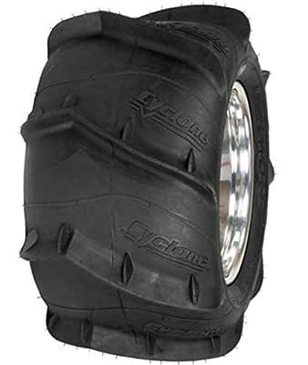 Sedona Cyclone Sand Paddle Tire - Rear Left - 20x11x10 , Position: Rear, Rim Size: 10, Tire Application: Sand, Tire Size: 20x11x10, Tire Type: ATV/UTV CY201110L