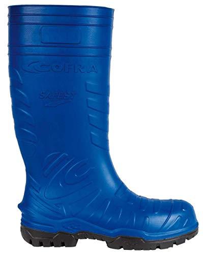 Cofra 00060-004.W42 Safest S5 Ci SRC - Zapatos de seguridad (talla 42), color azul