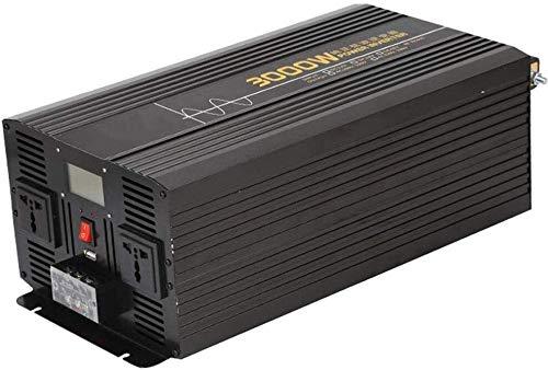 YHDQ Car Power Inverter Reiner Sinus-Wellen-Energien-Inverter 12 / 24V DC 110/230 V AC-Wandler mit 2 AC Outlets und LCD-Display, Geeignet for Haus, Auto Car Power Inverter (Color : 24vto220v)