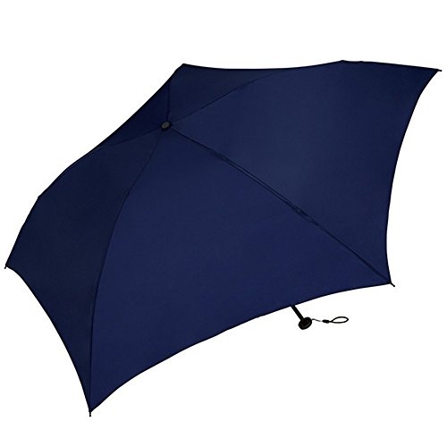World Party (Wpc.) Umbrella folding umbrella navy 50cm Women Men Unisex ultra-lightweight 70g MSK50-007