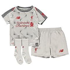 Conjunto de Camiseta Liverpool Tercera Equipación 2018-2019 Niños