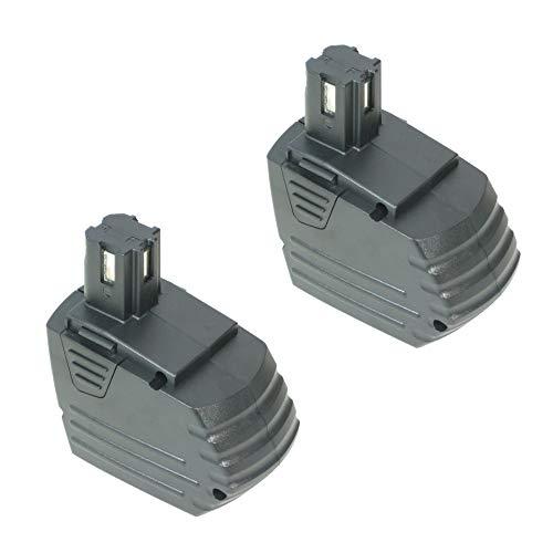 2x Trade-Shop Hochleistungs Ni-Mh Akku, 15,6V 3300mAh ersetzt Hilti SFB150 SFB155 für Hilti SF150 SF150-A SF150A SF151 SF151-A SF151A SFL12/15