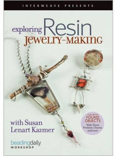 Interweave Press Exploring Resin Jewelry, Making DVD