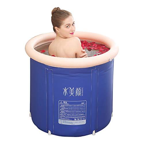 Adulto De La Familia De Baño De Cuerpo Completo, bañera cubo de plástico grueso, Plegable Desmontable Inicio bañera, for Adultos Unisex para Adultos y niños