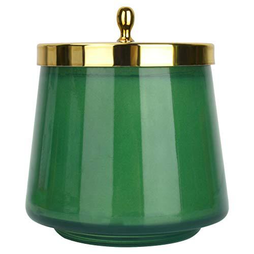 La Jolíe Muse Balsam & Zedernholz Duftkerze, 100% natürliche Kerze für zu Hause, Geschenk für Muttertag, 65-75 Stunden lang brennend, ovales Glas, 350g