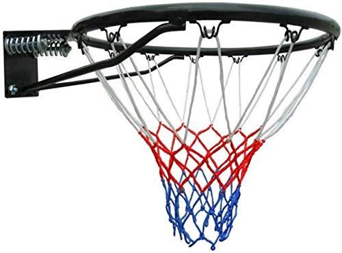 SONGYU-Basketball-Ständer Ständer Basketball Standard-Durable Nylon Indoor Outdoor Sport Ersatzbasketballkorb Tor Rim Net Basketballkorb