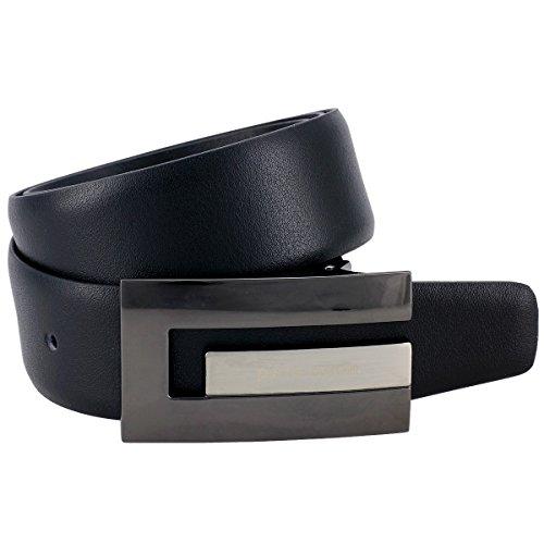 Pierre Cardin Ceinture Homme/Ceinture Homme, 70117 schwarz, Farbe/Color:noir, Size:90
