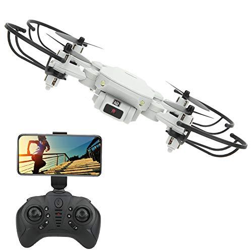 T-Day Drohne 4k Mini Drohne Für Kinder Und Anfänger High Definition Camera Professional WiFi RC Drohne Quadcopter, Weiß
