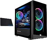 iBUYPOWER Gaming PC Computer Mini Desktop (AMD Ryzen 3 3100 3.6GHz, AMD Radeon RX 550 2GB, 8GB DDR4 RAM, 240GB SSD,WiFi Ready, Windows 10 Home) w/OD Mouse Pad