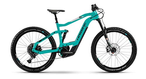 HAIBIKE SDURO FullSeven Life LT 7.0 Bosch Elektro Bike 2020 (M/44cm, Türkis/Schwarz/Grau)