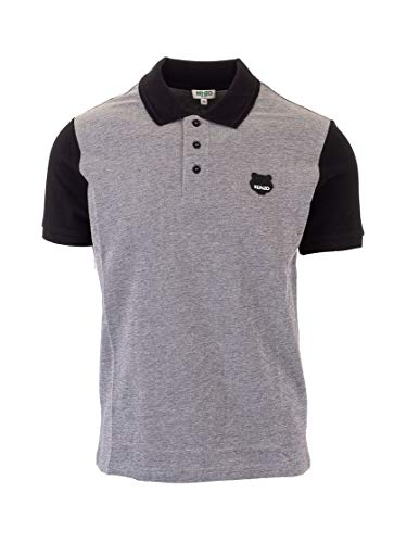 Kenzo Luxury Fashion Herren FA55PO0484BB99 Schwarz Baumwolle Poloshirt | Frühling Sommer 20