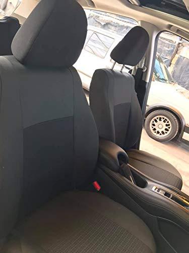 Fundas Cubreasientos Jetta A4 y A5 excelente Calidad Color Negro Tela Reforzada o tactopiel automotriz…