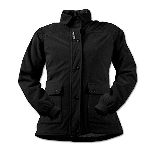 Women's Full Metal Jacket (Black, X-Small)