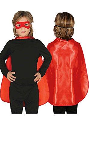 Capa Súper Roja infantil