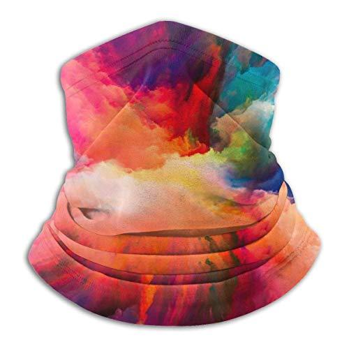 Any Way Colorido Cielo Cuello Polaina Bandana Calentador de Cuello pasamontañas para Hombres Mujeres Sol protección contra el Polvo del Viento UV