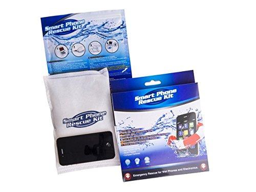 Smart Phone Rescue Kit zieht Feuchtigkeit aus Smartphone, Handy etc nach Wasserschäden