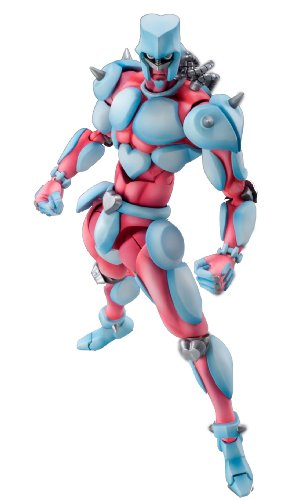 Super Figure Action [JoJo`s Bizarre Adventure] Part IV 13.Crazy Diamond (Hirohiko Araki Specify Color) (PVC Figure)